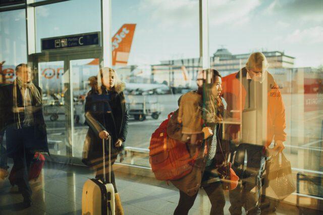 Pierwsza podróż samolotem