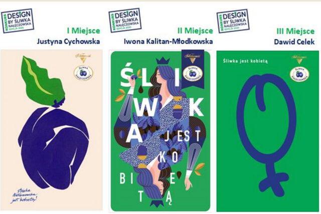 Śliwka Nałęczowska inspiracją na plakaty